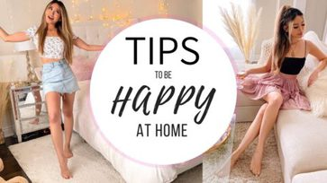 Tips to be happy at home