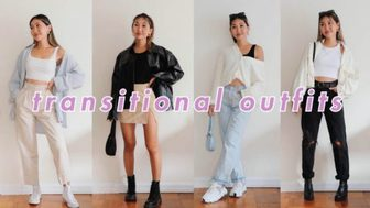 Summer to fall TRANSITIONAL OUTFIT IDEAS